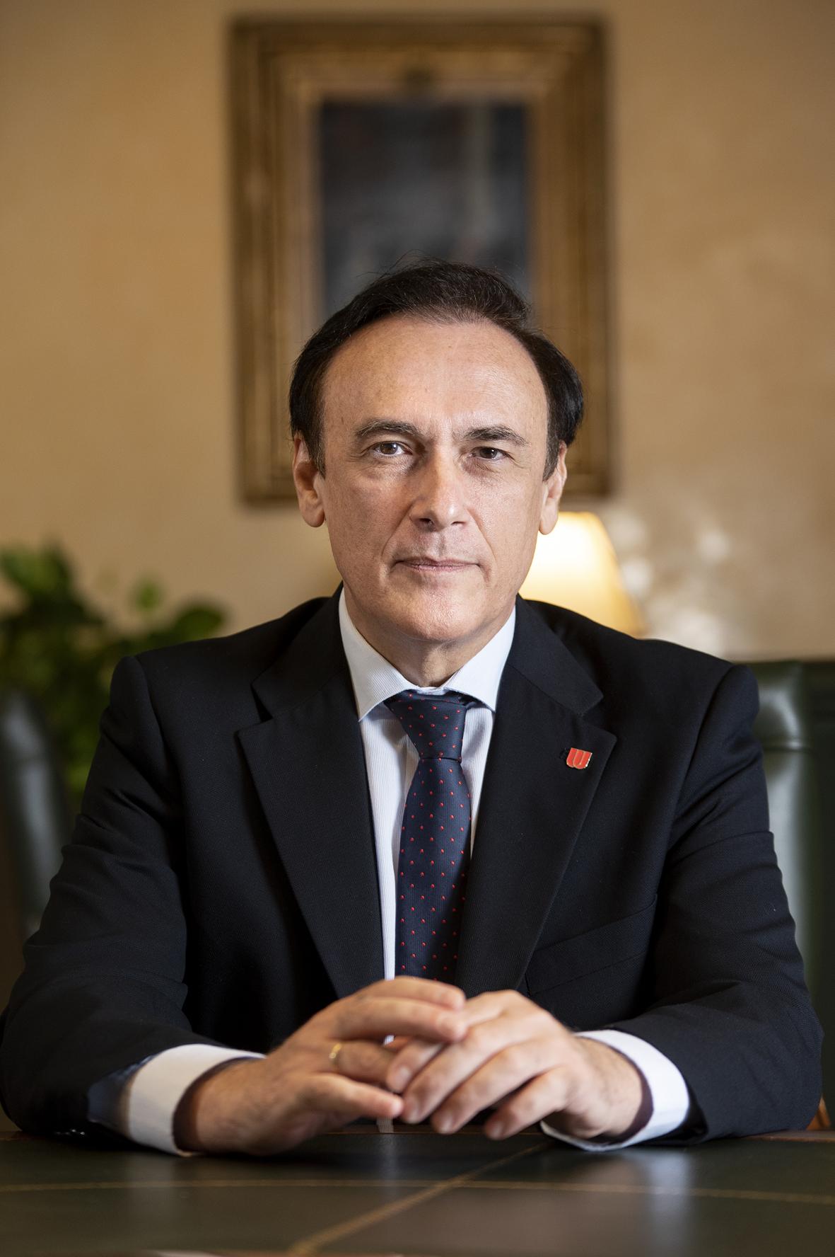 José Carlos Gómez Villamandos Presidente CRUE Universidades Españolas