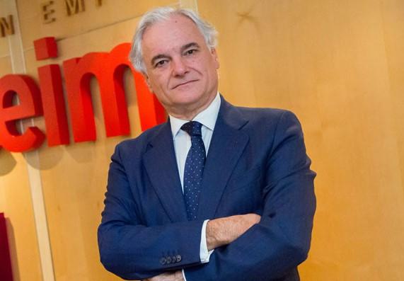 El presidente de CEIM, Miguel Garrido