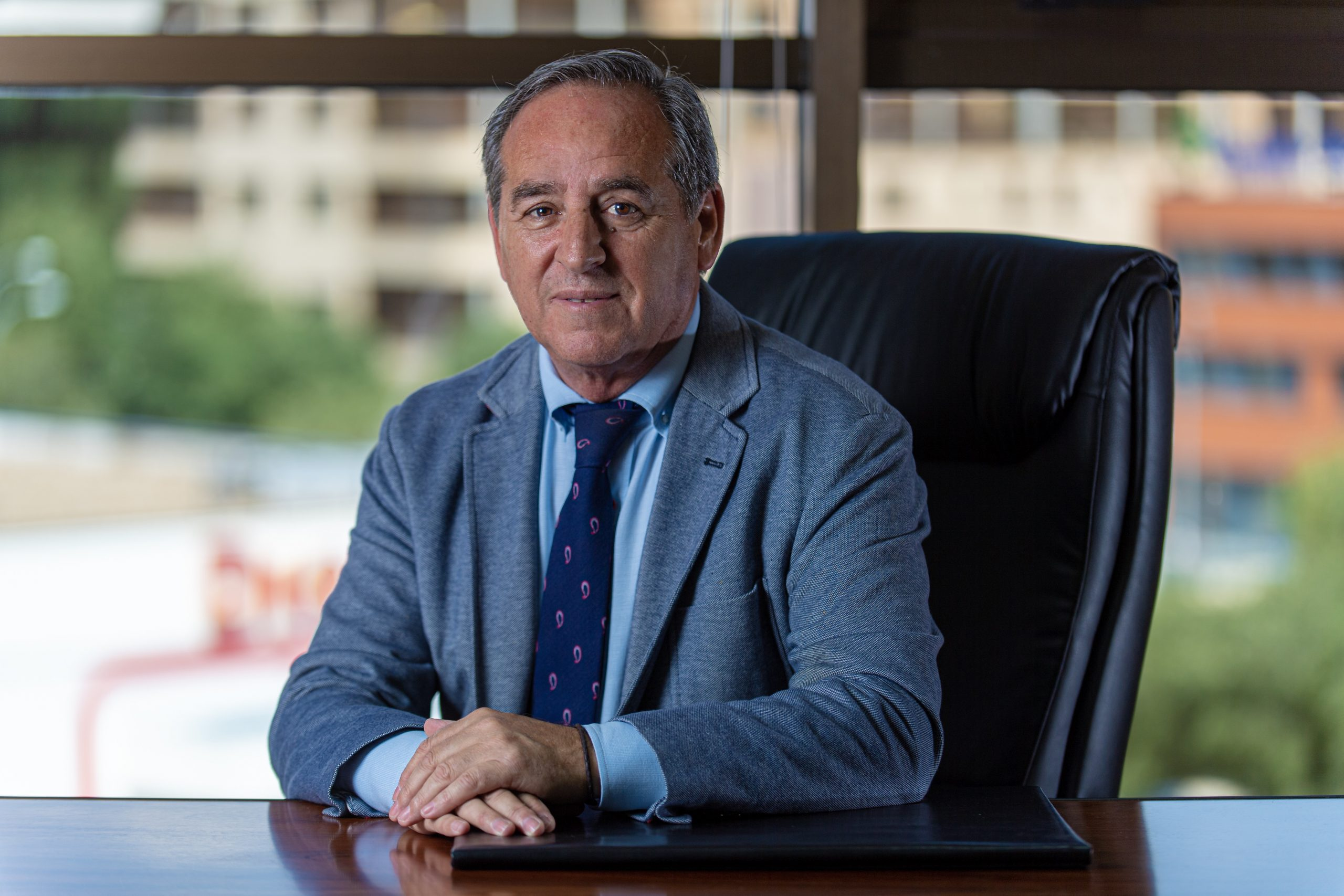 Ángel Nicolás García es Presidente de la Confederación Regional de Empresarios de Castilla-La Mancha (CECAM CEOE-CEPYME Castilla-La Mancha) y Presidente de la Federación Empresarial Toledana (FEDETO CEOE-CEPYME Toledo).